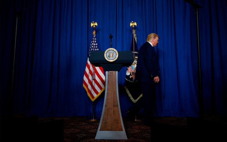 - Trump - job done